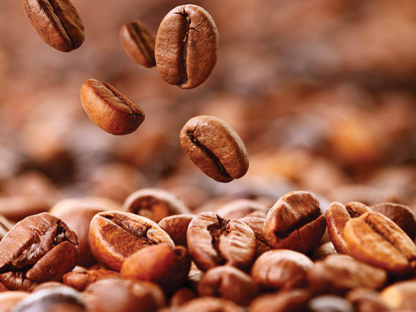 chicchi caffè tostato